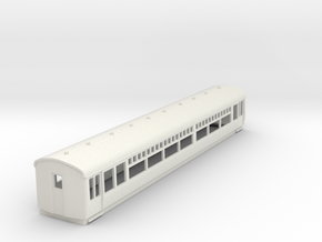 o-100-lner-trailer-3rd-coach in White Natural Versatile Plastic