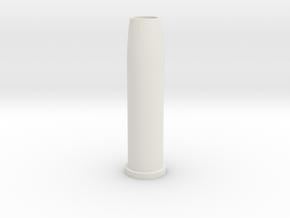 Airsoft WinGun Revolver Compatible 6mm 5-BB Shell in White Natural Versatile Plastic