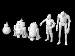(Legion) Droid Set I in Smooth Fine Detail Plastic