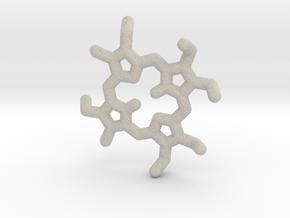 Octaethylporphyrin pendant in Natural Sandstone