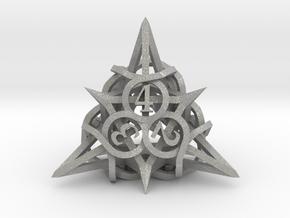 Thorn Die4 in Aluminum