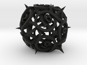 Thorn Die12 in Black Premium Versatile Plastic