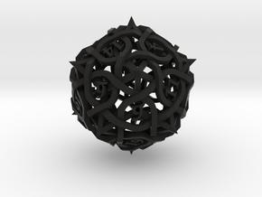 DoubleSize Thorn Die20 in Black Premium Versatile Plastic