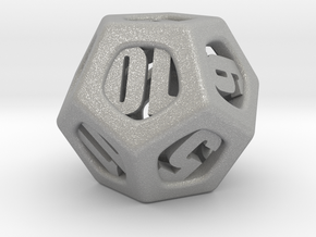 Thoroughly Modern d12 in Aluminum