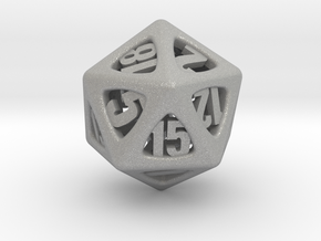 Thoroughly Modern d20 in Aluminum