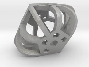 DemiDodeca d6 in Aluminum