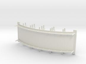 Bamboo Bridge  in White Natural Versatile Plastic