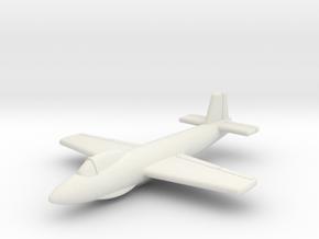 "(1:144) Junkers Ju EF127 ""Walli"" in White Natural Versatile Plastic"
