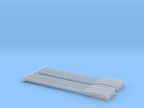 Generic Oars for Boat Models in Smooth Fine Detail Plastic