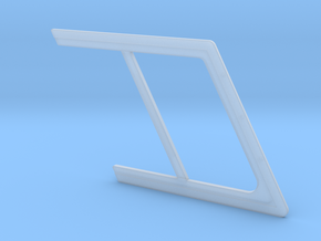 1:7.6 Ecureuil AS 350 / Window Frame 03 in Smooth Fine Detail Plastic