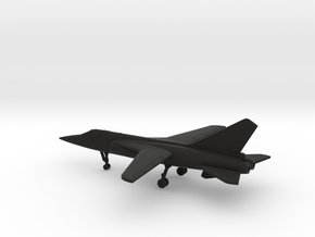 Dassault Mirage G.8 in Black Natural Versatile Plastic: 6mm