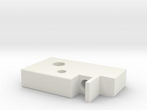 EVO_TDC_2.1 in White Natural Versatile Plastic