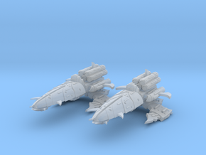 Reaver Frigates (2) in Smooth Fine Detail Plastic