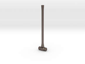 Sledge Hammer - 1:8 scale in Polished Bronzed Silver Steel