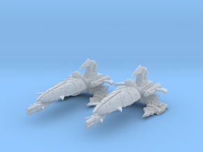 Corsair Frigates (2) in Smooth Fine Detail Plastic