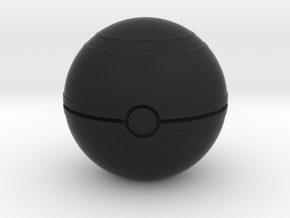"Pokemon Luxury Ball 2"" desk decoration in Black Natural Versatile Plastic"
