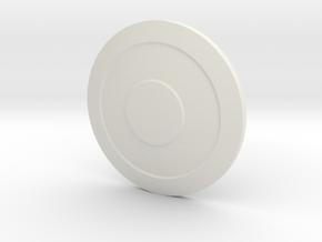 Layered Shield for ModiBot in White Natural Versatile Plastic
