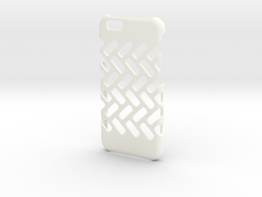 iPhone 6/6s DIY Case - Ventilon in White Processed Versatile Plastic