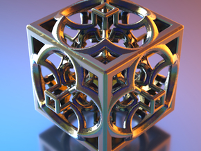 Hyper Menger GF71 in Polished Nickel Steel