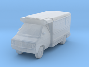 Protestor Hotel / Casino Shuttle Bus  in Smooth Fine Detail Plastic