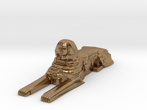 Sphinx in Natural Brass