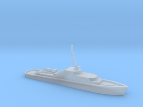 1/285 Scale German Police Boat in Smooth Fine Detail Plastic