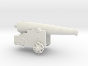 Fort Sumter 32lb Cannon in White Natural Versatile Plastic