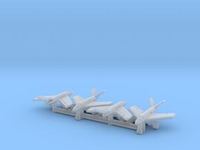 (1:700) (x4) Messerschmitt Me P.1112  in Smooth Fine Detail Plastic