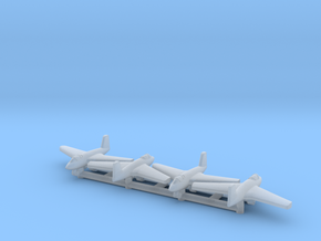 (1:700) (x4) Messerschmitt Me 263  in Smooth Fine Detail Plastic