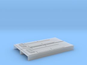 EMD SD40A Non Dynamic Brake (N - 1:160) 2X in Smoothest Fine Detail Plastic