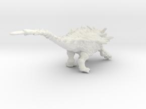 Animantarx in White Natural Versatile Plastic: Small