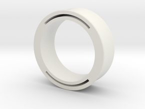 nfc ring 2 in White Natural Versatile Plastic: 9 / 59