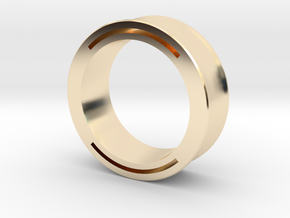 nfc ring 2 in 14k Gold Plated Brass: 9 / 59