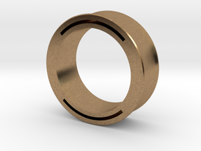 nfc ring 2 -size8 in Natural Brass
