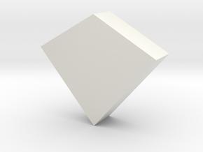 3D Firepit (Medium) in White Natural Versatile Plastic