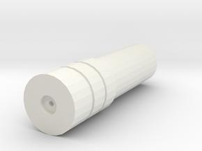 Mock Laser Sight in White Natural Versatile Plastic
