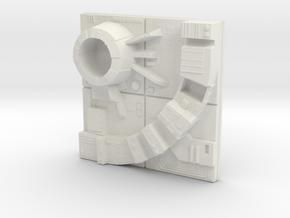 tile_deathstar_19 in White Natural Versatile Plastic
