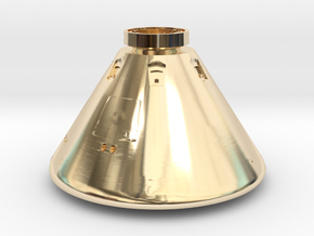 Orion Space Capsule in 14K Yellow Gold