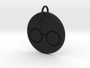 Harry Potter Keychain in Black Premium Versatile Plastic