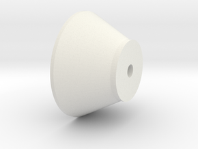 emitter in White Natural Versatile Plastic