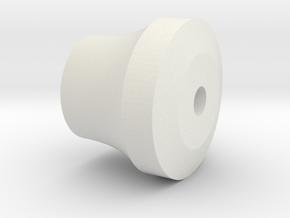 pommel in White Natural Versatile Plastic