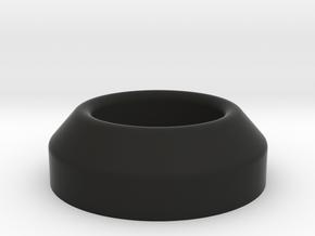 ConicalWasher in Black Natural Versatile Plastic