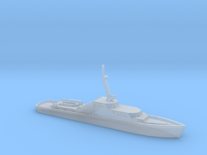 1/1250 Scale German Police Boat in Smooth Fine Detail Plastic