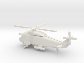 1/192 Scale SH-2 Sea Sprite in White Natural Versatile Plastic