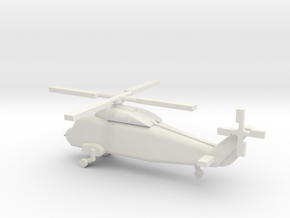 1/192 Scale UH-2 Sea Sprite in White Natural Versatile Plastic