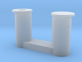 1 bollard big_1 Poller groß 1:50 in Smooth Fine Detail Plastic