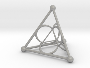 Nested Tetrahedron in Aluminum