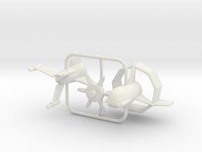 1/144 Heinkel Wespe in White Natural Versatile Plastic