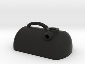 Scale Half Portible Tank SCX10 TRX4  in Black Natural Versatile Plastic