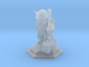 Dwarf Warrior / Fighter / Barbarian in Smooth Fine Detail Plastic